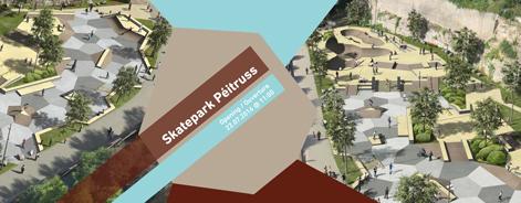 Skatepark Péitruss Ville de Luxembourg – Grand Opening